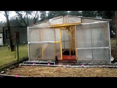 Раздвижные окна для теплиц изготовление