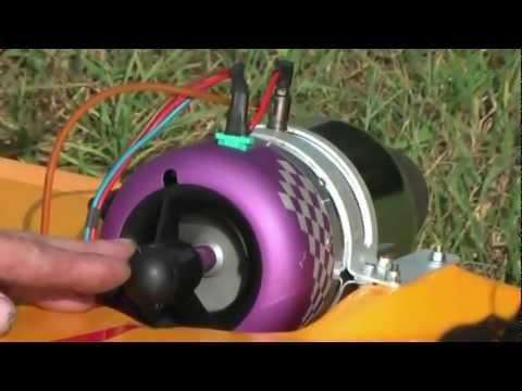 Реактивный двигатель на пропане