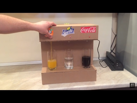 Аппарат для розлива лимонада своими руками