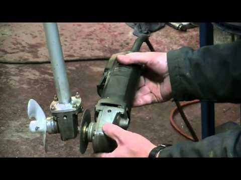 Видео как сделать лодочный мотор своими руками