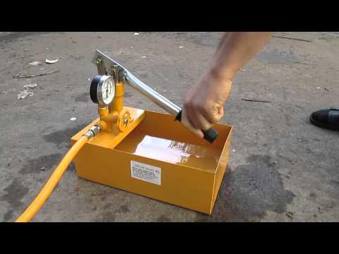 Как сделать опрессовщик ручной