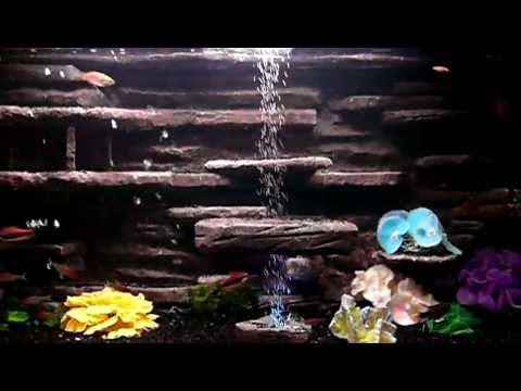 Декор для аквариума из пенопласта своими руками