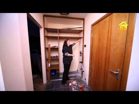 Как самому сделать шкаф в прихожую