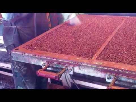 Изготовление резиновой тротуарной плитки своими руками