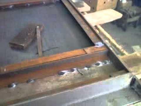 изготовить железную дверь