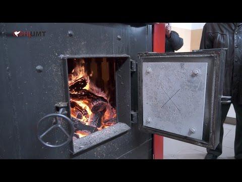 Котел на дровах видео
