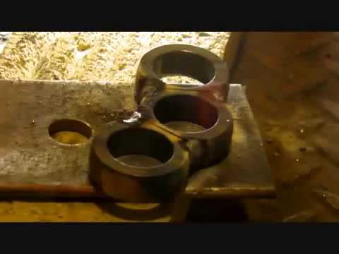 Как сделать брелок из свинца