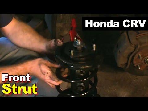 Замена задних пружин хонда аккорд 8