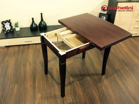 Сделать раздвижной стол своими руками