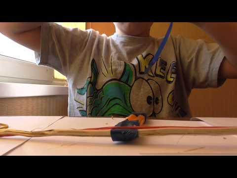 Как сделать лук в домашних условиях видео ютуб