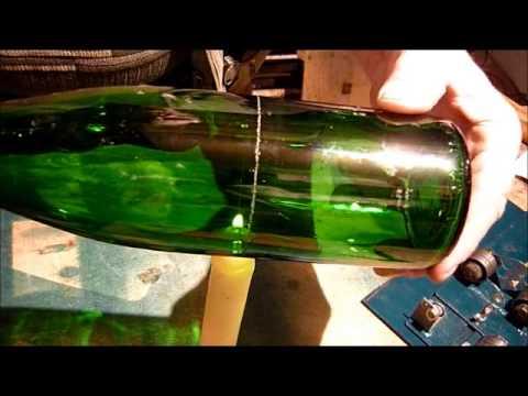 Как разрезать бутылку в домашних условиях вдоль 156