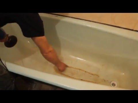Замена ванны i своими руками