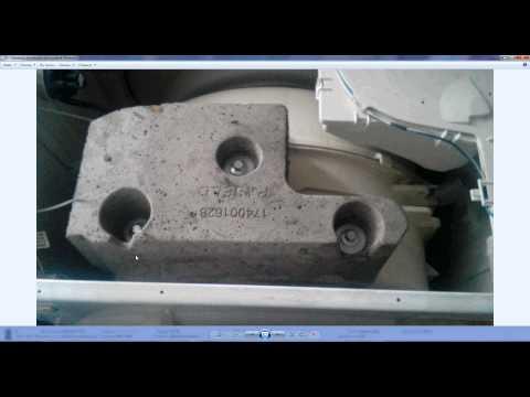 Ремонт стиральной машине индезит своими руками