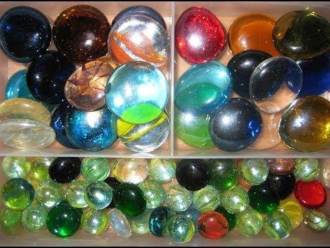 Стеклянные камни своими руками
