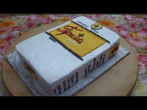 Торт пачка сигарет фото
