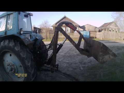 Погрузчик на трактор своими руками