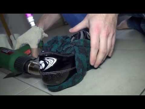 Видео термоформовки коньков в домашних условиях