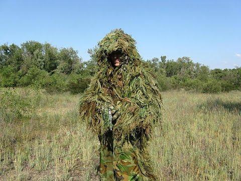 Снайперский камуфляж своими руками