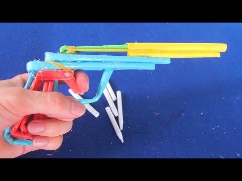 Смотреть видео как сделать из бумаги пистолет который стреляет - Шина Плюс