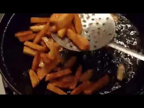 Приготовление картошки фри в домашних условиях в сковороде