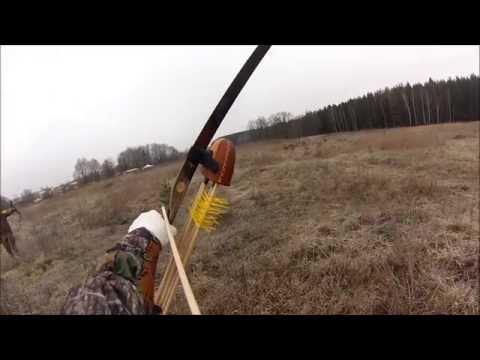 Охота с луком своими руками