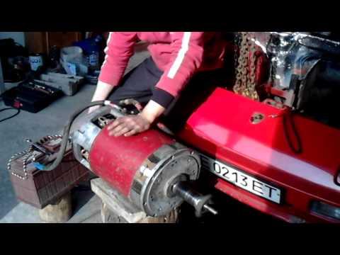 Автомобили с электродвигателем своими руками