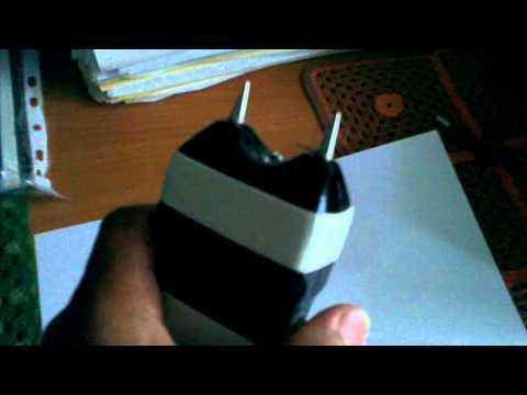 Видео как сделать электрошокер своими руками