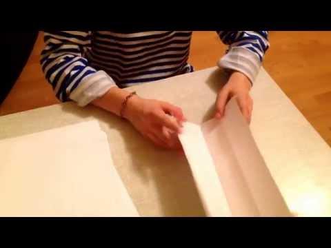 Как сделать биту из бумаги