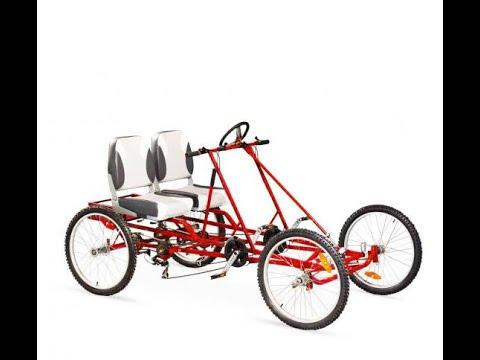 Как сделать квадроцикл велосипед своими руками