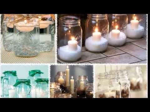 Свеча в стакане своими руками на новый год