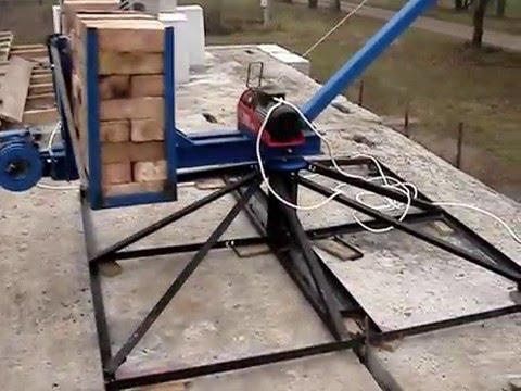 Как сделать подъемник на стройке своими руками