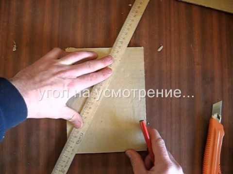 Как сделать планшет своими руками из картона