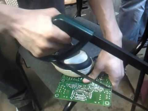 Ремонт инвертора монитора ноутбука