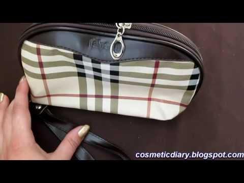 Дорожная раскладная сумка-косметичка vladmama