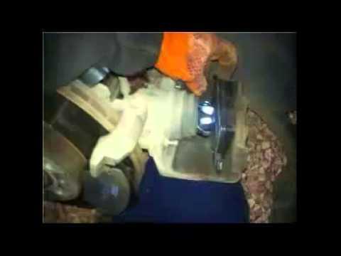 ГНТИ - замена передних тормозных колодок на шкода йети - Видеорепортажи из мира науки и техники