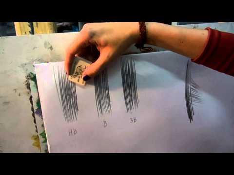 Как сделать стирательную резинку видео