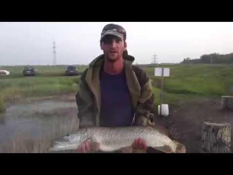 рыбалка на озере малиновское