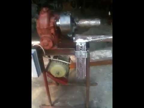 Станок для ковки с электроприводом своими руками