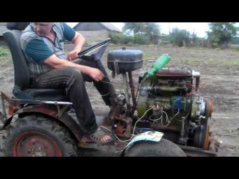 Сделать трактор своими руками с двигателем уд 2