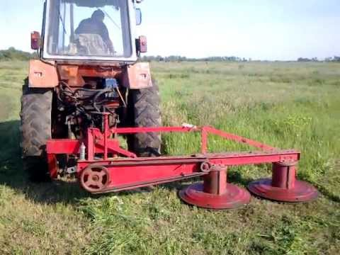 Роторный косилка для трактора т 25 своими руками