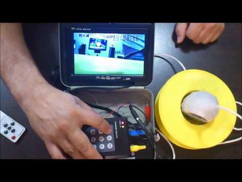 Зимняя рыбалка подводная камера своими руками