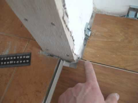 Установка ламинированных дверей своими руками видео