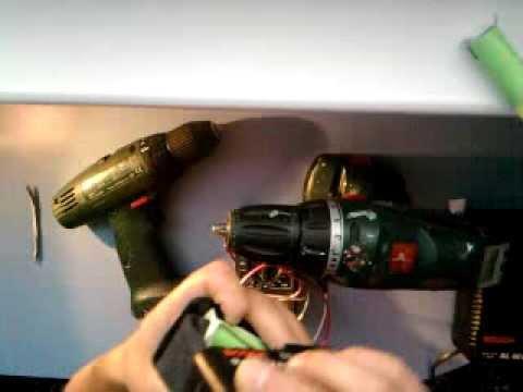 Аккумулятор для шуруповерта своими руками