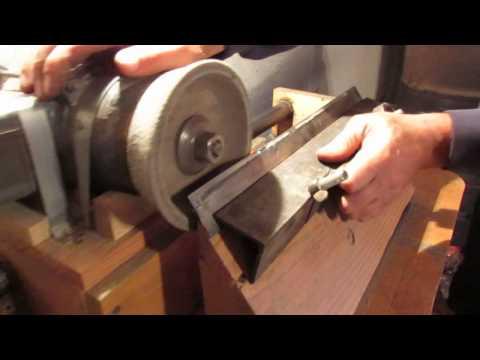 Как заточить ножи для строгального станка