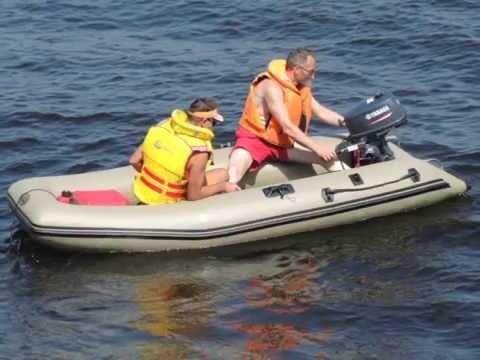 Yamaha 5 л.с и лодка 330