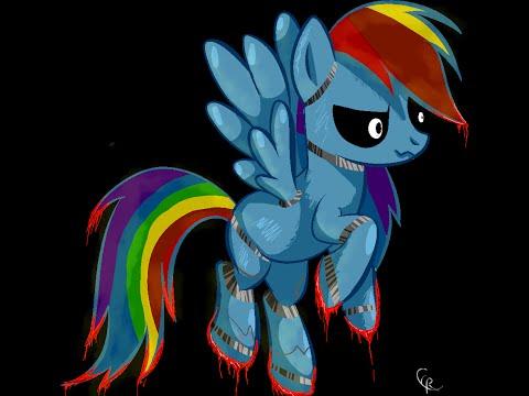 ГНТИ - Как сделать из пони аниматроника\\ Speed Paint MLP Rainbow Dash animatronic - Видеорепортажи из мира науки и техники