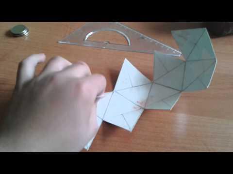 ГНТИ - как сделать геометрические фигуры из одной бумаги - Видеорепортажи из мира науки и техники