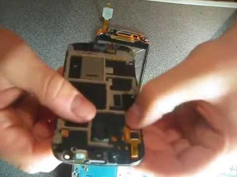 Как заменить сенсор на samsung s7562