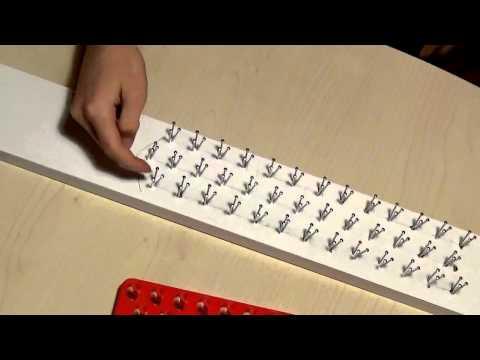 Сделать станок для плетения резинок своими руками