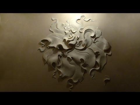 Как сделать объемный рисунок на стене своими
